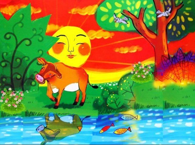 Chú bò tìm bạn Phạm Hổ - Câu chuyện về tình bạn của chú bò và cái bóng