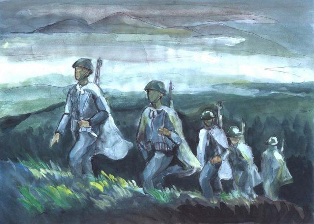 Bài thơ Nhớ (Hồng Nguyên) - Bức chân dung người lính thời chiến tranh