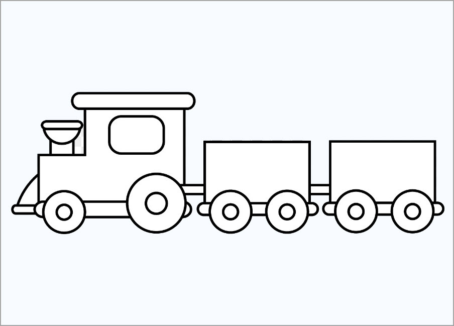 Sưu tầm 101 mẫu tranh tô màu phương tiện giao thông đẹp nhất cho bé