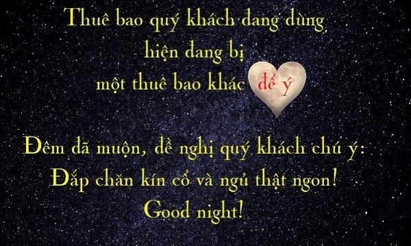 Tuyển tập stt chúc ngủ ngon cho người yêu cực ngọt ngào và lãng mạn